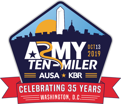 2019 Army Ten-Miler Logo