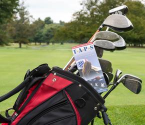 Golf Cart Taps on golf stretch, golf tape, golf shower, golf map,