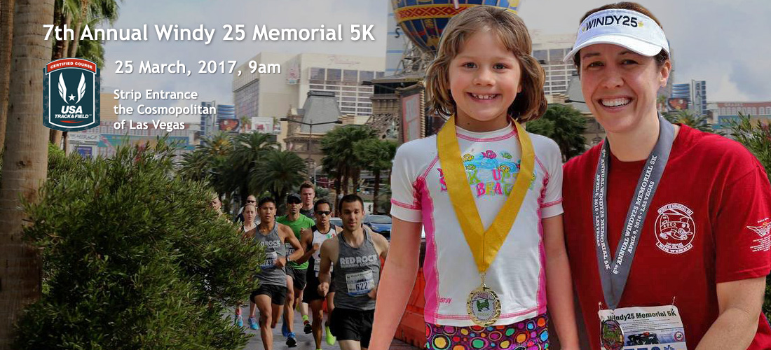 7th Annual Windy25  Memorial 5K March 25 2017